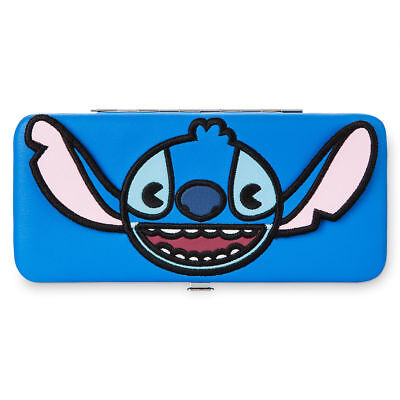 Adult Movie Stores (Disney Store Parks Stitch Wallet for Adults Blue Lilo & Stitch)
