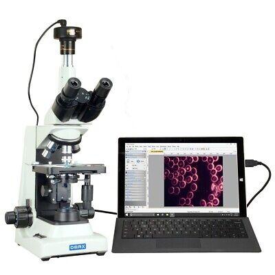 Omax 40x-2000x 10mp Digital Darkfield Plan Trinocular Compound Led Microscope