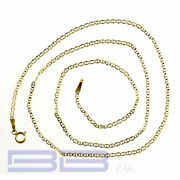 22 inch 14k Gold Chain Yellow