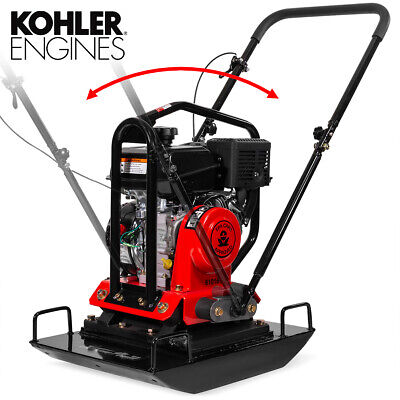 6hp 4500-pound Walk Behind Reversible Plate Compactor Gas Epa Carb Kolher Ch260