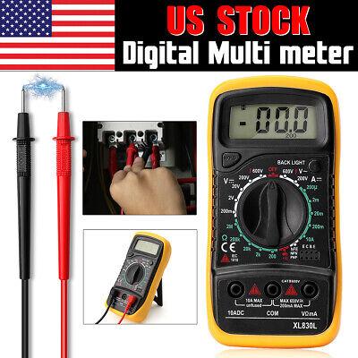 Lcd Digital Multi-meter Tester Ac Dc Voltmeter Ammeter Ohmmeter Volt Meter Test