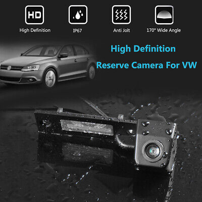 Rear View Reverse Camera 12V For VW Transporter T5 T30 Caddy Passat B5 JETTA  for sale  Shipping to United States