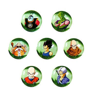 56589. Murmelbahn Dragonball Z, 7 Bälle Glas 22mm Freunde von Goku (Dragon Ball Z Bälle)