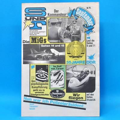 Sport und Technik 9/1984 DDR GST NVA S & T MiG Segelfliegen Südafrika Tarent M