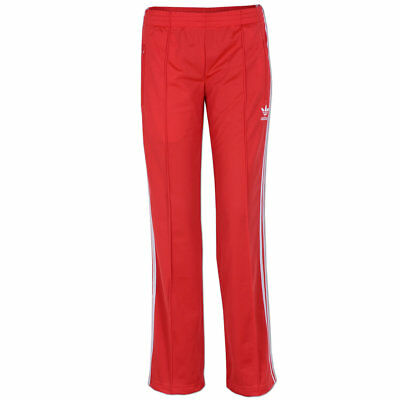 adidas Damen Hose Firebird Track Pant Trainingshose Sporthose Jogginghose hi red