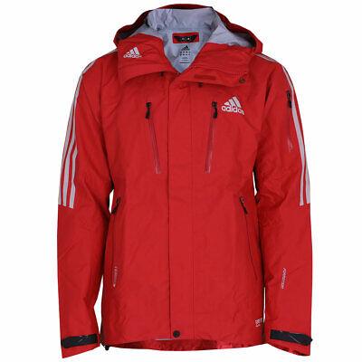 adidas Herren Terrex Promo Gore-Tex Jacke Pro Shell Outdoor GTX Jacket rot