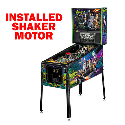Stern The Munsters Pro Pinball Machine with Shaker Motor
