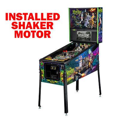 Stern The Munsters Pro Pinball Machine with Shaker Motor