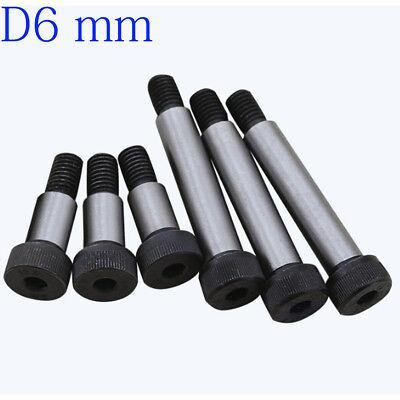 D6 6mm M5 X 0.8mm Socket Head Shoulder Bolt Stripper Screw High Tensile 12.9