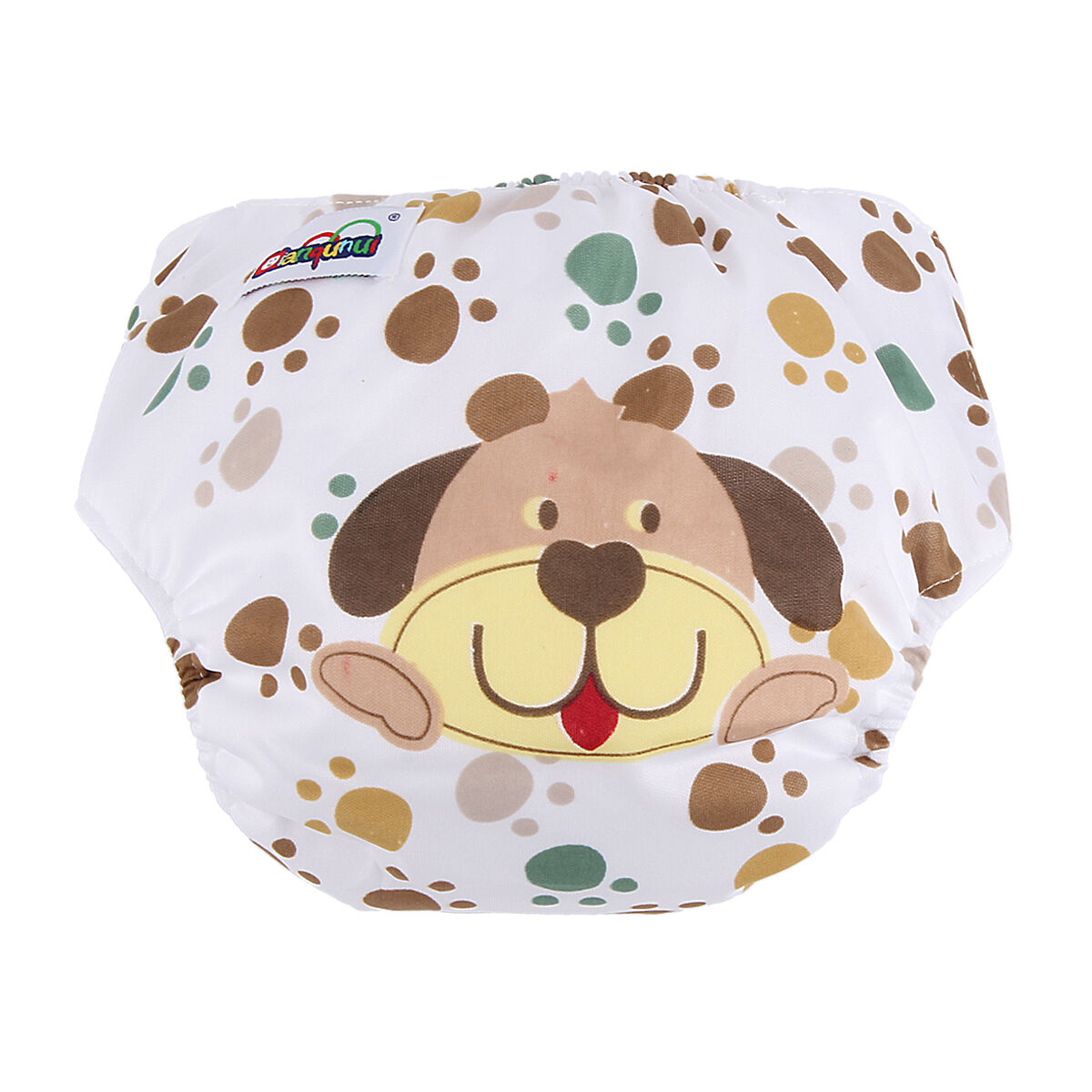 5pcs+ 5INSERT Lovely printing Adjustable Reusable Washable Cloth Diaper Nappies  Dog