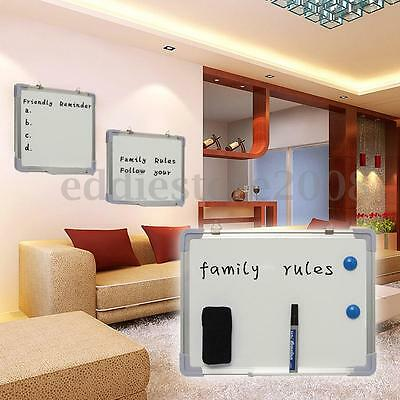 Small Medium Large Magnetic Whiteboard Dry Wipe Drawing Board Office School