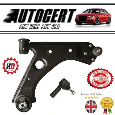 FIAT PUNTO 2012> FRONT LOWER SUSPENSION CONTROL ARM WISHBONE & TRACK ROD - RH