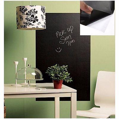 Removable Chalk Board Blackboard Vinyl Wall Sticker Decal Chalkboard 200 X 45Cm