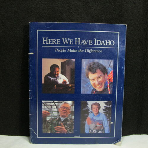 Here we Have Idaho People Make the Difference Album I Very RARE Find!