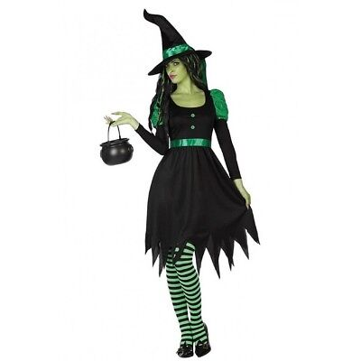costume Halloween woman Witch of the'West frightening Halloween sexy with hat](Frightening Halloween Costumes)
