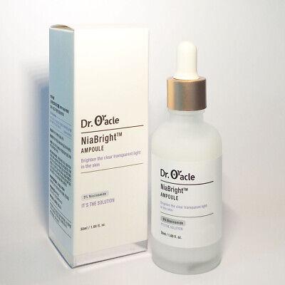 Dr.Oracle NiaBright Ampoule Skin Brightening Whitening Niacinamide K-Beauty 50ml