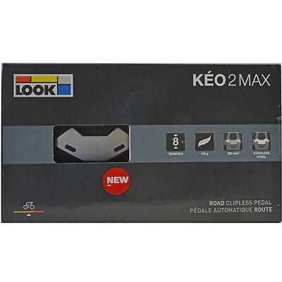 or 9° Float w// Hardware 2018 Model 4.5° Look KEO Bi-Material Cleats Set 0°