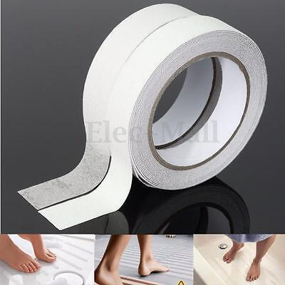 White Bath Shower Anti Slip Tape Non Slip Strips Grip Sticker Floor Safety Grit