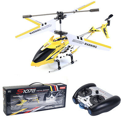 Syma S107G 3-Channel 3.5CH Mini Aloof Control RC Helicopter Gyro Genuine LED