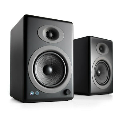 Audioengine A5+ Black Wireless Speakers with aptX HD