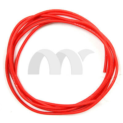 24 Awg 5 Feet 1.5m Gauge Silicone Wire Flexible Stranded Copper Cables Red