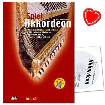 Spiel Akkordeon - Spielbuch mit CD - Ama Verlag - 610252 - 9783932587627