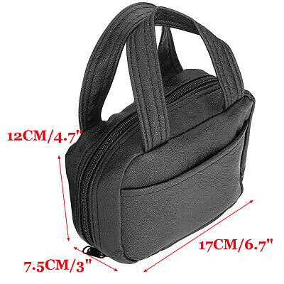 Bible Cover Zippered Holy Book Tote Bag Religious Portable Carry Case  - $11.54