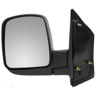 Manual Left Side View Mirror Fits 2003-2015 Chevrolet Express 2500 Express 3500