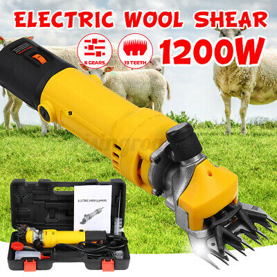 1200w Electric Farm Supplies Sheep Goat Shears Animal Grooming Clipper Machine