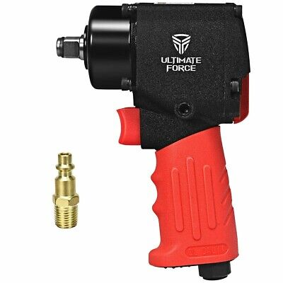 12 Mini Air Impact Wrench Pneumatic Driver With Hammers Hardware Power Tools