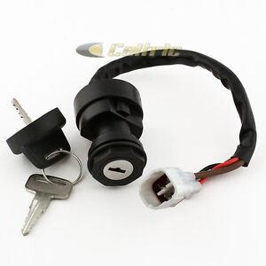 Ignition Key Switch FITS YAMAHA BIG BEAR 400 YFM400 2000 ATV