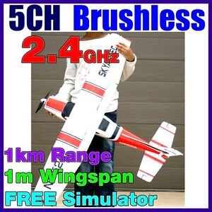 5CH Skyartec Cessna 182 Li-Po Brushless RTF RC Electric Plane Airplane 2.4GHz BL