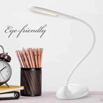 Dimmbar 5W LED Schreibtischlampe Leselampe Tischleuchte 3 Farbtemperatur Neu22