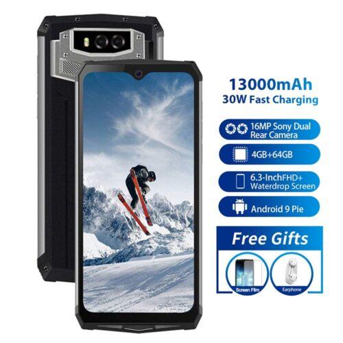 Outdoor Handy 13000mAh Blackview BV9100 4GB+64GB 16MP NFC 4G Smartphone 6.3 Zoll
