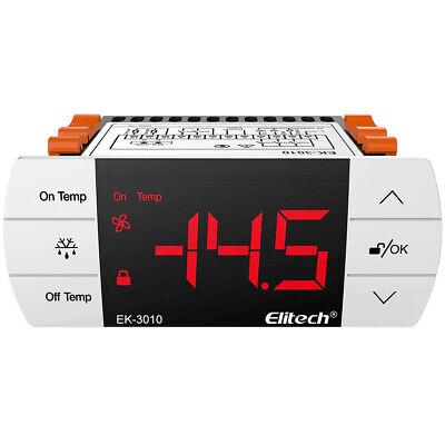 Elitech Ek-3010 Digital Temperature Controller Temp Control Panel Thermostat