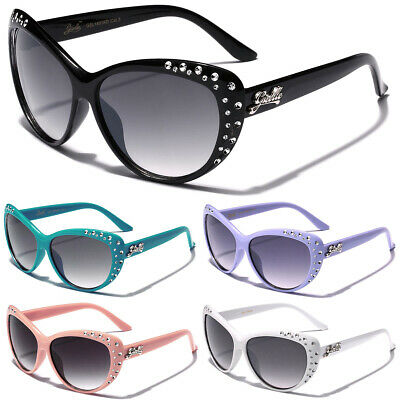 Kids Rhinestone Cat-Eye Sunglasses for Girls Cool Fashion Designer Glasses (Kids Fashion Sunglasses)