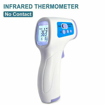 Medical Grade Non-contact Infrared Forehead Thermometer Lcd Laser Ir Usa Ship