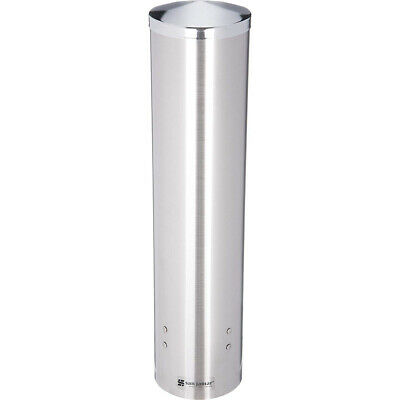 San Jamar C3250ss Stainless Steel Large Pull Type Water Cup Dispenser