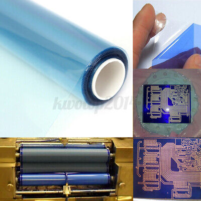 Pcb Photosensitive Dry Film For Circuit Production Photoresist Sheets 30cm X