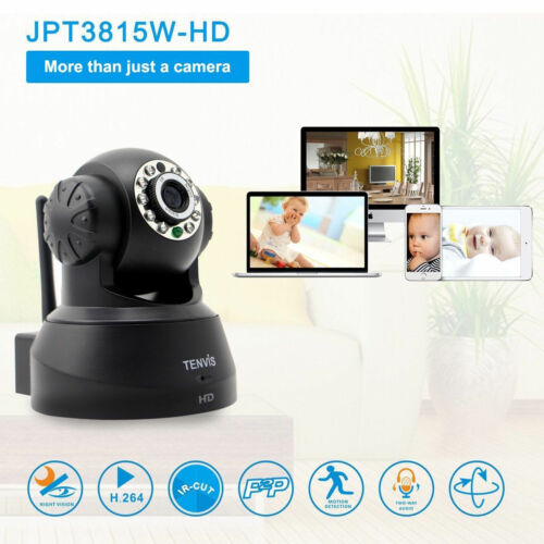 Tenvis Hd Wireless Ip Home Office Security Camera For Pc ...