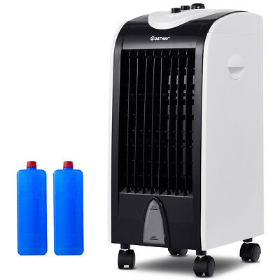 Evaporative Portable Air Conditioner Cooler Fan Humidify W/Filter Knob Control