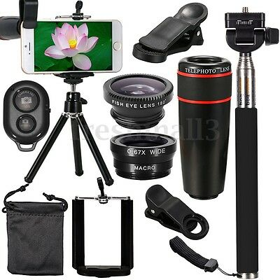 All in1 Accessories Phone Camera Lens Top Travel Kit For iphone XS MAX XR Gifts