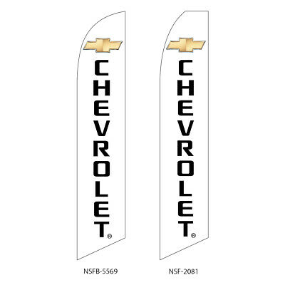 Chevrolet Flutter Feather Flag Swooper Advertising Sign Banner