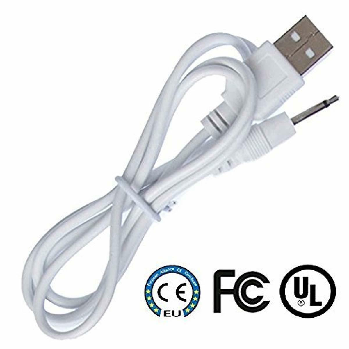 Original  DC Charging Cable USB Cord for Rechargeable Device .25mm