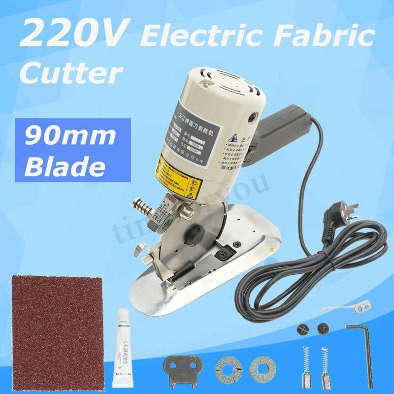 Electric Cloth Textile Cutter Fabric Leather Cutting Machine Scissor Saw