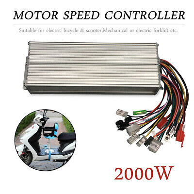 2000w Dc 48-72v Brushless Motor Controller For Electric Scooter Electric Bike Us