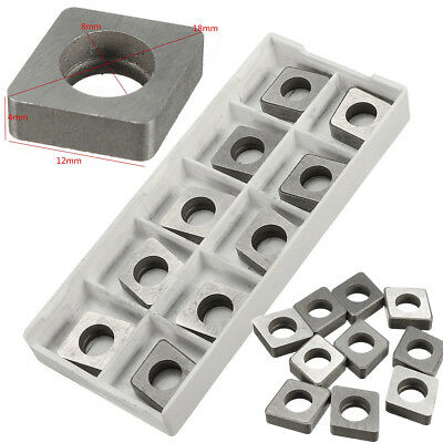 10x Sc1204 Carbide Insert Shim Seats For Cnmg Cnmm 1204080412 Cnc Tool Holder