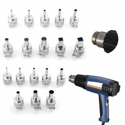 10pcs Heat Gun Nozzles Solder Kit Tool For 850852950 Hot Air Soldering Station
