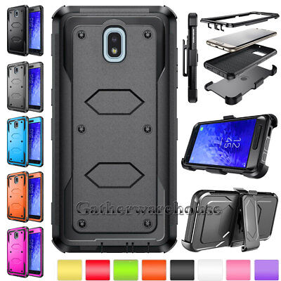 For Samsung Galaxy J7 V 2018/Refine/Star/Crown/S7/S7 Edge Phone Case Armor Cover