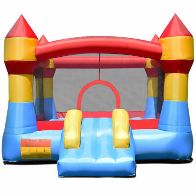 Inflatable Bounce House Castle Jumper Moonwalk Playhouse Slide Without Blower](Inflatable Castle)